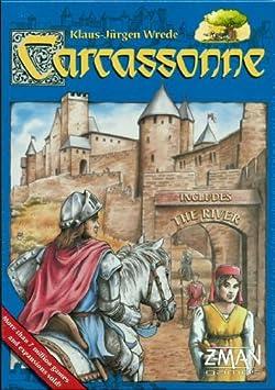 Carcassonne New Edition - Juego de Mesa (en inglés): Carcassonne New Edition Board Game: Amazon.es: Juguetes y juegos