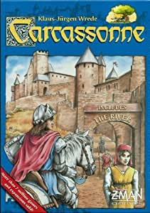 Z-Man Games 78000ZMG Carcassonne Basic Game