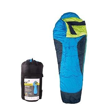 AceCamp Terrain Momia Saco de Dormir Saco de Incluye Pack, 3 Estaciones – Saco de