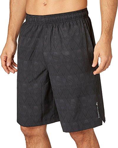 (Reebok Men's Printed Woven Shorts (Nomad Nightfall, X-Large))