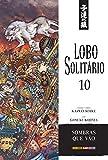 capa de Lobo Solitário - Volume 10