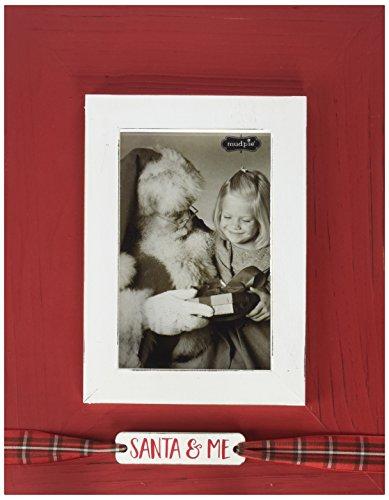 Mud Pie Santa and ME Vertical Frame by Mud Pie
