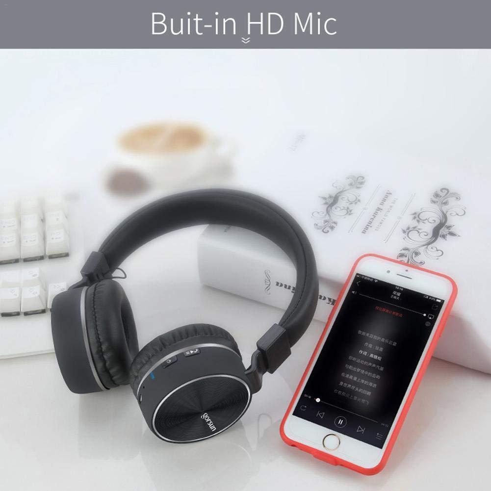 Reputedc Auriculares Deportivos inalámbricos Bluetooth de la Moda GE Shang E87, subwoofer montado en la Cabeza, Auriculares Plegables universales: ...