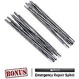 Weanas Aluminum Rod Tent Pole Replacement Accessories