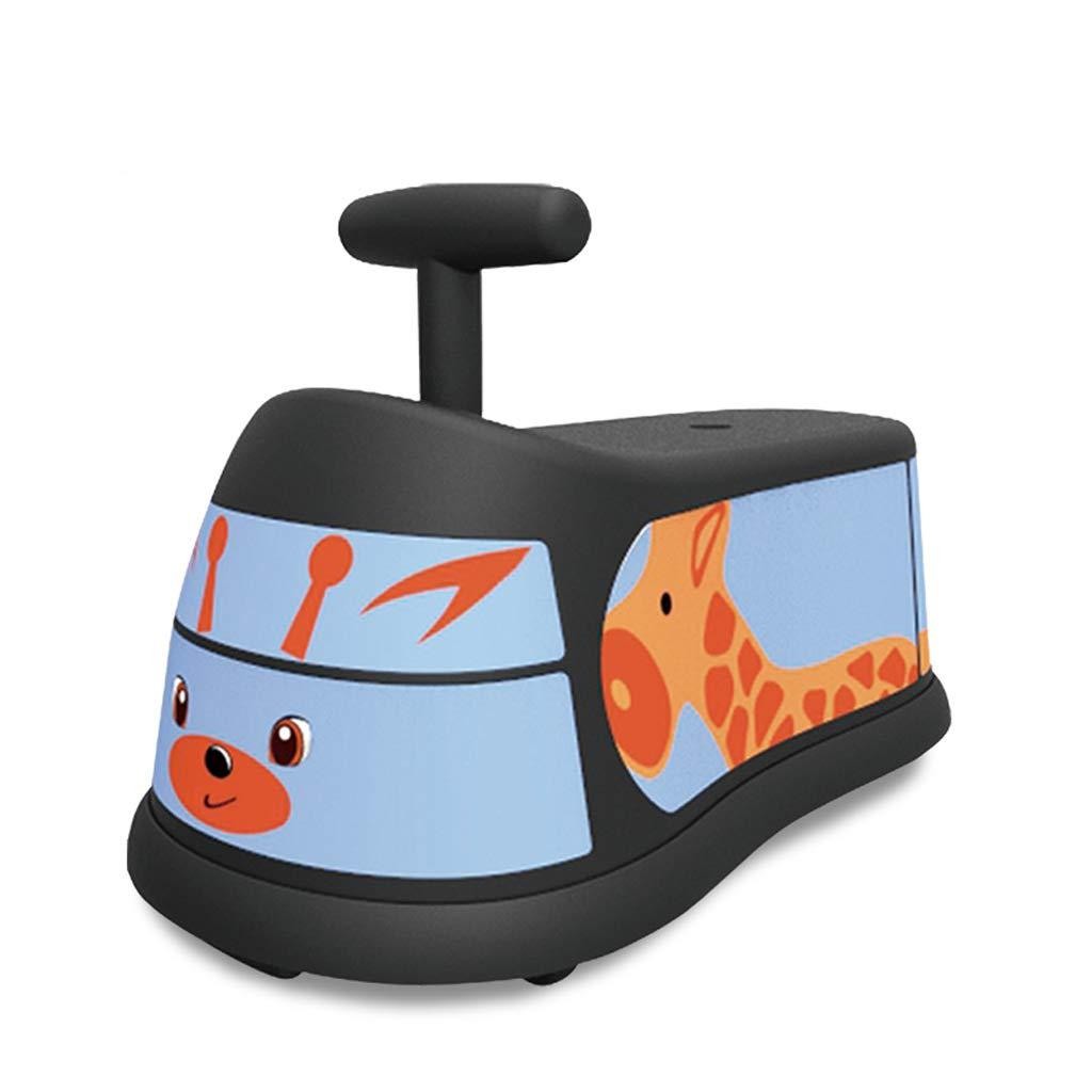 D Kinder verdrehen Autoradendrehungsauto-stummes Radkinder-Roller-Spielzeugauto (Farbe   D)