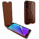 Piel Frama 721 Brown Crocodile iMagnum Leather Case for Samsung Galaxy Note 5