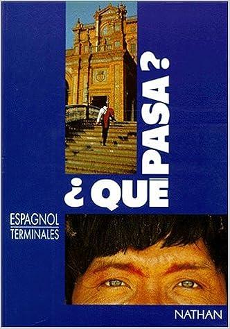 Téléchargez des livres sur iPad mini Qué pasa ?, terminale in French