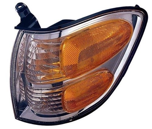 Go-Parts » OE Replacement for 2001-2004 Toyota Sequoia Turn Signal Light Assembly/Lens Cover - Front Left (Driver) Side 81520-0C020 TO2530143 ()