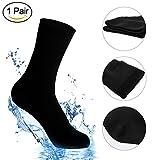Waterproof Socks, Unisex Mid-Calf and Ankle Waterproof & Highly Breathable Athletic/Hiking/Trekking/Ski Socks (1 Pair)