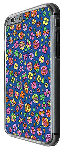 1312 - Cool Fun Trendy cute kwaii colourful floral flowers collage Design iphone 4 4S Coque Fashion Trend Case Coque Protection Cover plastique et métal - Clear