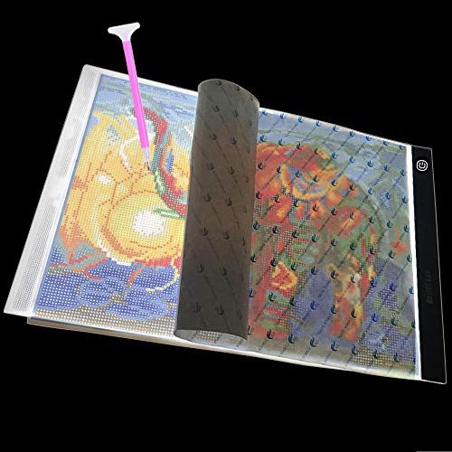 Big Size Diamond Painting A3 Light Pad, Dimmable Light Board Kit, XXL LED Light Board for 5D Diamond Painting by USlinsky
