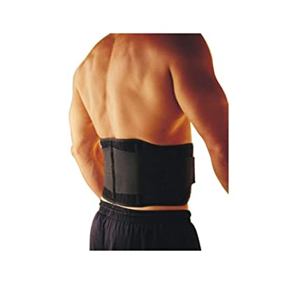 98ce7187279 Buy HealthAndYoga(TM) Magnetic Lumbar Support Back Belt (L: 80-100cm  (32
