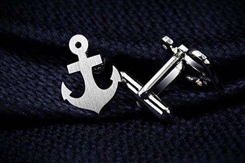 Anchor Cufflinks – Anchor jewerly for men – Valentines gift for men – Beach Wedding Cufflinks for groom by FEINFEIN