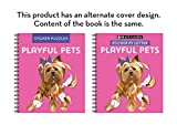 Brain Games - Sticker by Letter: Playful Pets