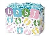 SMALL BABY STEPS Basket Boxes6-3/4x4x5'' (5 unit, 6 pack per unit.)