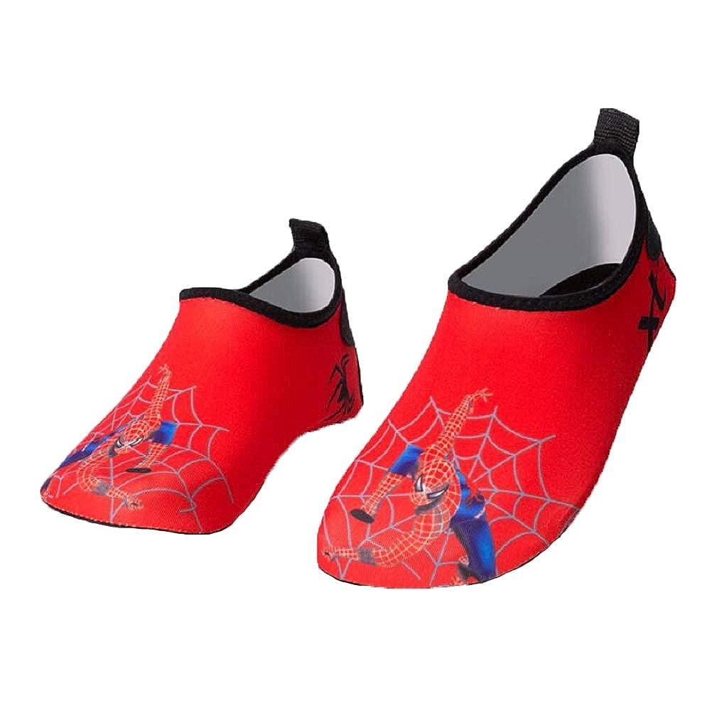 MXH Tauchschuhe Kinderprint Komfort Soft-bottom Beach atmungsaktive Casual Schwimmschuhe Spider kaufen Sie ein kostenloses