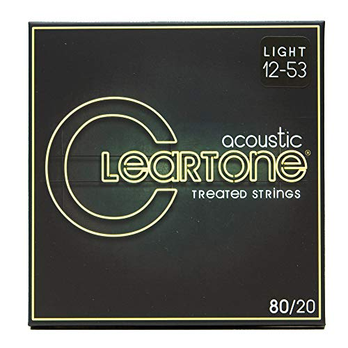 (Cleartone 7612 80/20 Bronze Acoustic String Set)
