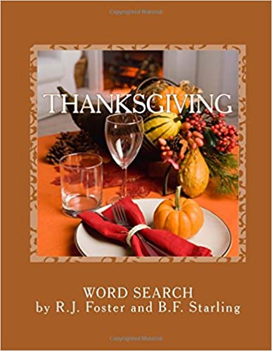 Thanksgiving: Word Search