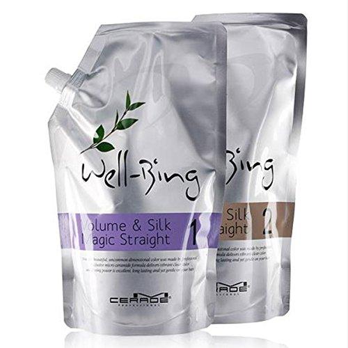 クローン苦しむセンチメートル【韓国コスメ】[Somang/希望]Somang Mcerade Wellbeing Volume and Silk Magic Straight (700ml+700ml)/希望エムセロッドウェルネスボリュームアンドシルクマジックストレート(海外直送品)