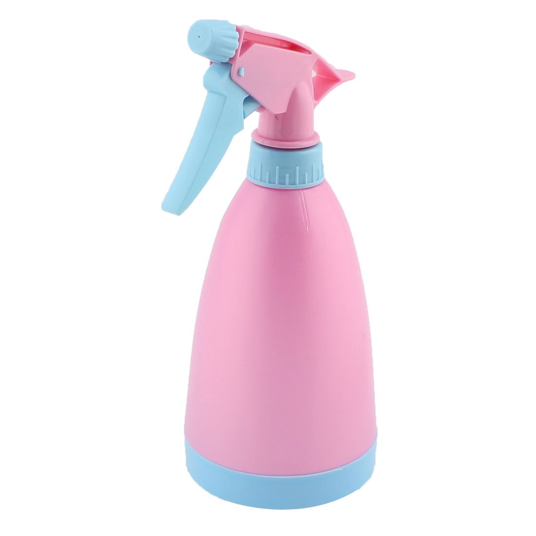 uxcell Plastic Hair Salon Gardening Potted Plant Trigger Spray Bottle 475ml Pink Blue US-SA-AJD-217275