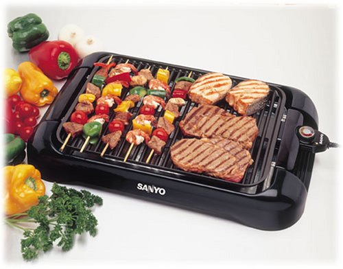 Sanyo Hps Sg3 200 Square Inch Electric Indoor Barbeque