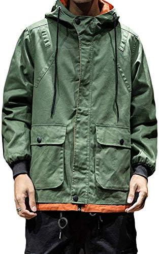 メンズ ウインドブレーカー ジャケット フード付き ブルゾン