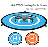 MINIBIGGER 75cm PGY RC Drone launch pad Quadcopter Helicopter Mini landing pad helipad Dronepad DJI Mavic phantom 2 3 4 inspire 1 protective Accessories