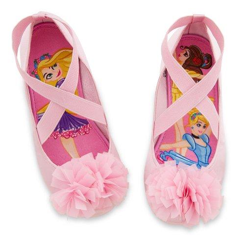 31b9fee2f0d Disney Store Disney Princess Pink Ballet Flats Shoes Slippers Size 10 - Buy  Online in UAE.