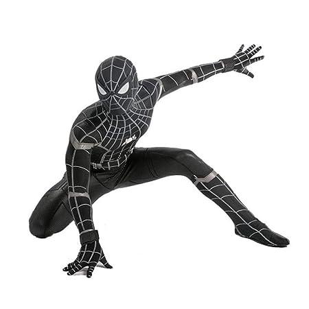 Disfraz De Spiderman Negro Disfraz De Adulto Para Niño Disfraz De ...