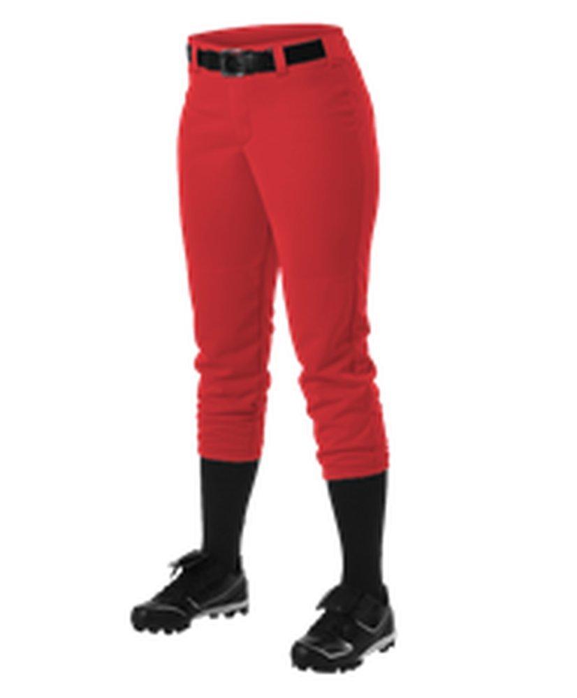 Alleson Athletic PANTS レディース B071X9X6XD Medium|スカーレット スカーレット Medium