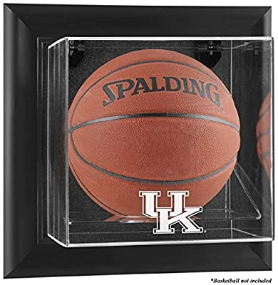 Kentucky Wildcats Black Framed Wall Mountable Basketball Display Case