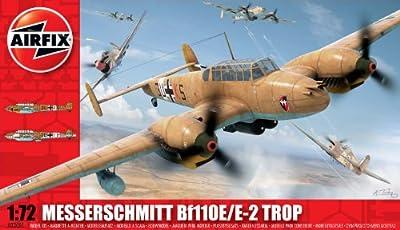 Airfix A03081 Messerschmitt Bf110E 1:72 Scale Military Aircraft Series 3 Model Kit