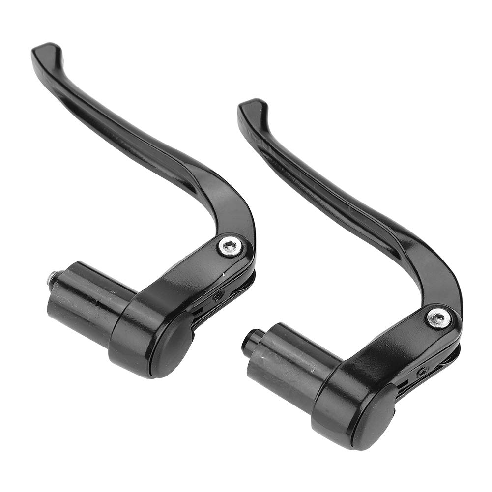 Black VGEBY 1Pair Brake Levels Aluminum Alloy Bicycle Brake Handle Mountain Road Bike Brake Lever Aluminum Alloy Bicycle Brake Handle Mountain Road Bike Brake Lever