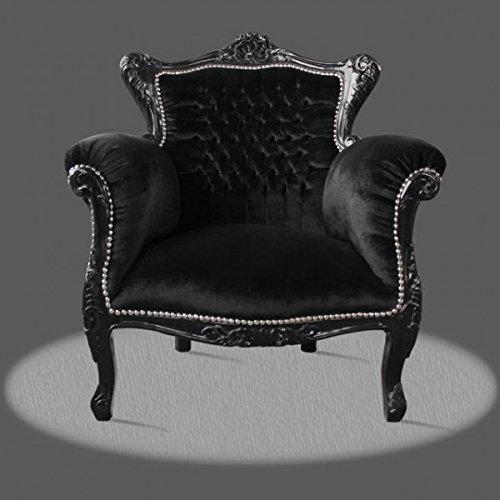 LouisXV Sillón barroco fauteuille estilo antiguo rococó ...