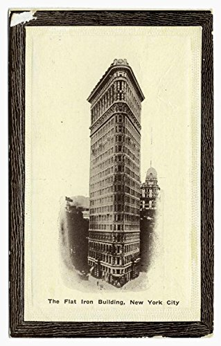 (Historic Pictoric Print | The Flat Iron Building, New York City, 1910 | Vintage Wall Art | 8in x 12in)