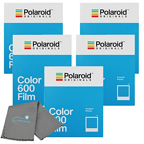 Big Save! Polaroid Originals Color Instant Film for 600 and i-Type Cameras Bundle with a Lumintrail ...