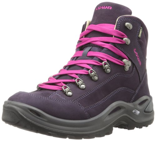 Image of Lowa Women's Renegade Pro Goretex Mid Hiking Boot,Prune,7 M US