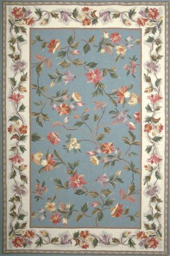 Kas Colonial 1728 Slate Blue-Ivory 30