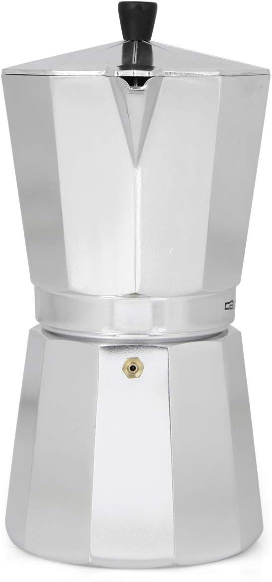 Cafetera italiana ORBEGOZO KF1200 | ORBEGOZO 12 tazas Vitro Gas ...