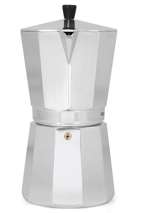 Cafetera italiana ORBEGOZO KF900 | ORBEGOZO 9 tazas Vitro Gas ...