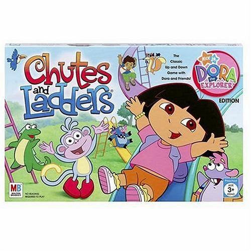 Dora The Game Board Explorer (Chutes And Ladders Dora The Explorer Edition)