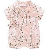 DGAGA Newborn Baby Kimono Robe Organic Cotton