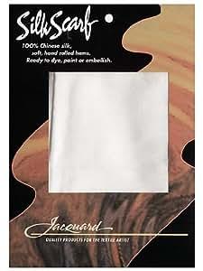 Jacquard Blank Silk Scarves 8 in. x 54 in.