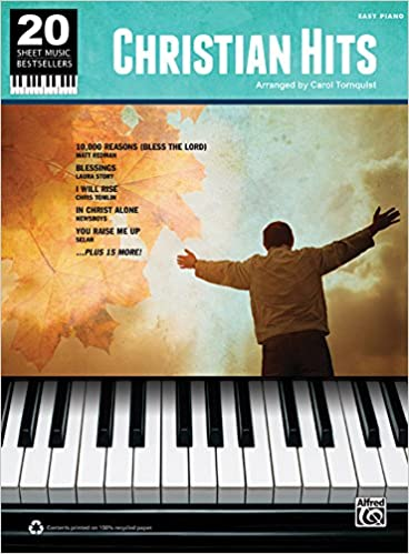 Christian Hits: Easy Piano (20 Sheet Music Bestsellers