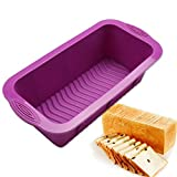 Non-stick Silicone Baking Pan Cake Mold Bread Maker Loaff Pans Toast Mould Baking Tools