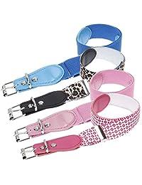 Bundle Monster 4pc Adjustable Elastic Band Girls Fashion Stretch Belts - Set 1