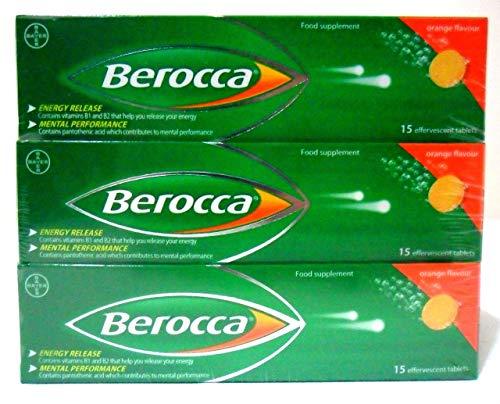 Berocca Orange Flavour 6 X 15 Pack ()