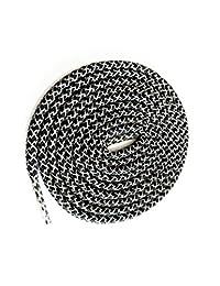 lorpops Reflective Round Shoelaces, (1 Pair Pack) 9Colors