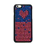 FS 0413 Phone Case, Fashion Skittle Style iPhone 6 (4.7 Inch) Case, Frosting Touch, Colorful Dots, Hard Fun Case (Sweet Heart)