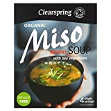 Clearspring Organic Miso Soup & Sea Vegetable 4 x 10g - Pack of 6